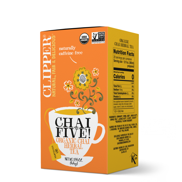 Chai Five organic herbal tea