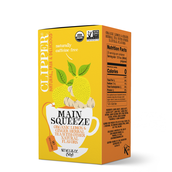 Main Squeeze organic herbal tea