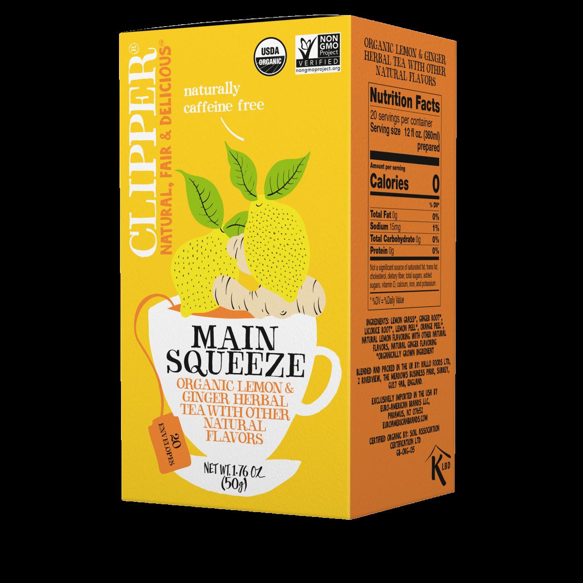 Main Squeeze organic herbal tea