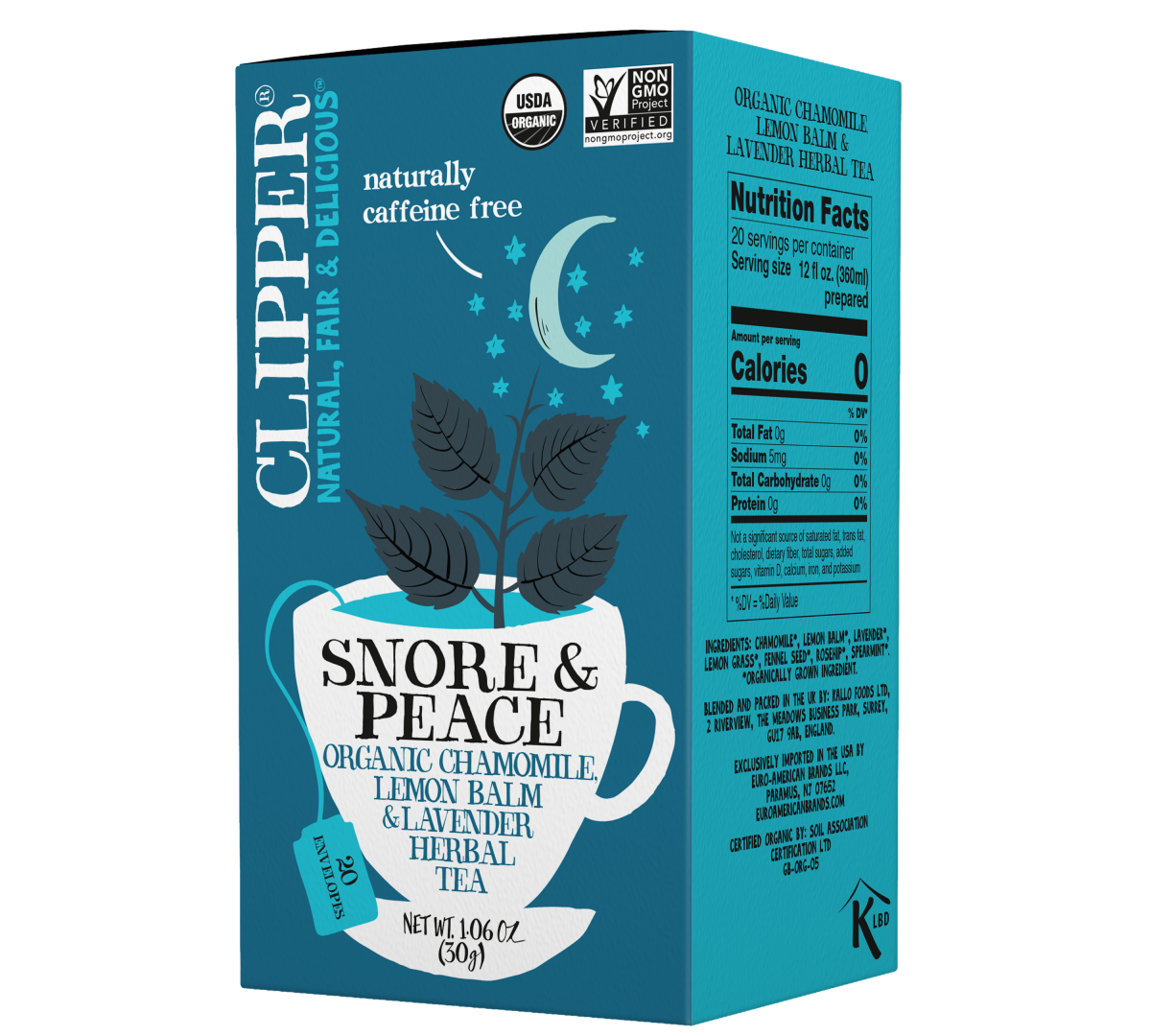 Snore and Peace organic herbal tea
