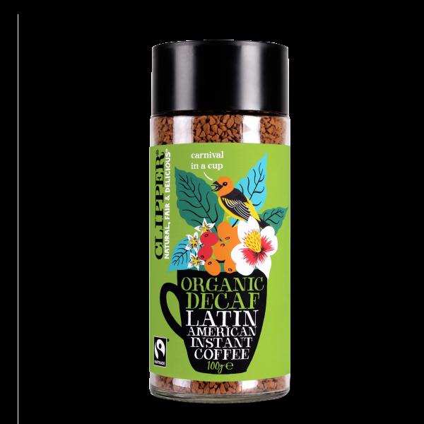 organic decaf latin american instant coffee 100g