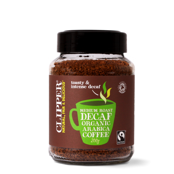 medium roast decaf organic arabica coffee