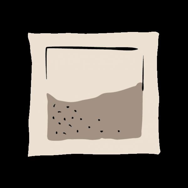 pillow tea bag