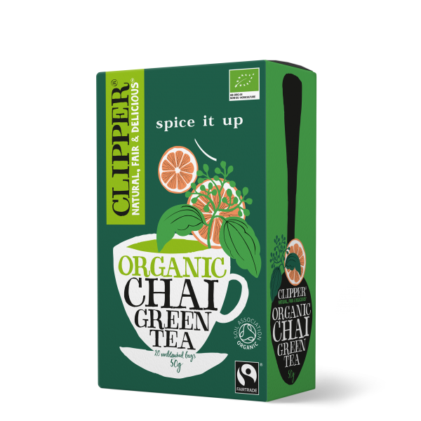 Organic Fairtrade Chai Green Tea