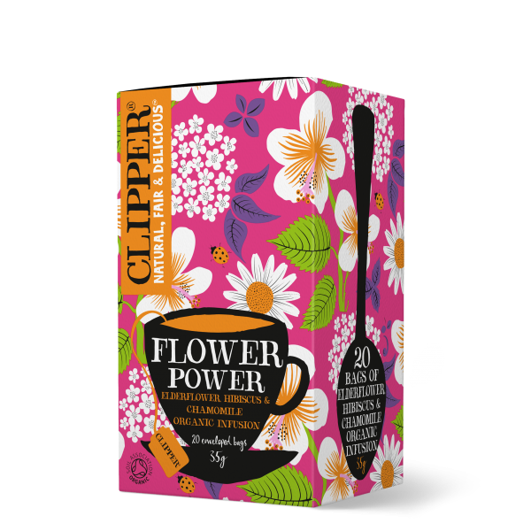 organic flower power infusion