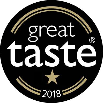 1 star Great Taste Award 2018